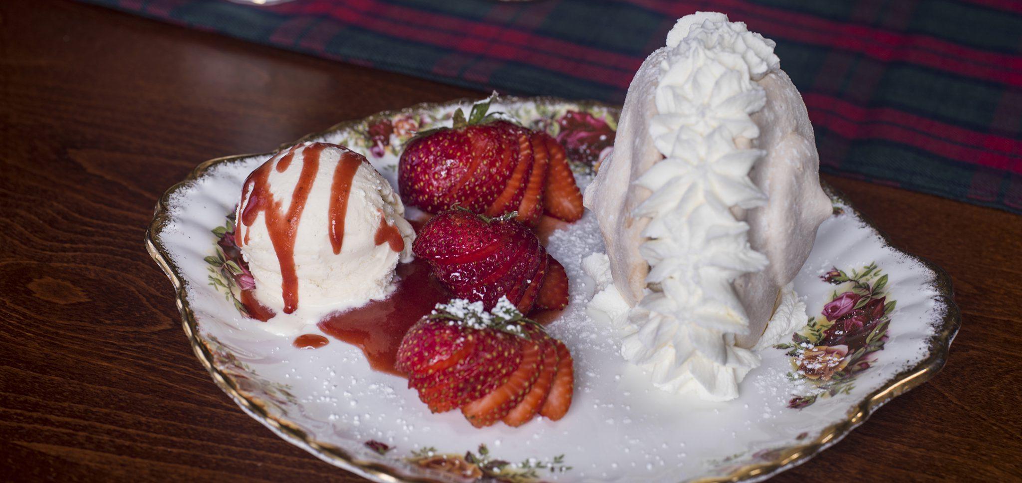 Menu – Desserts