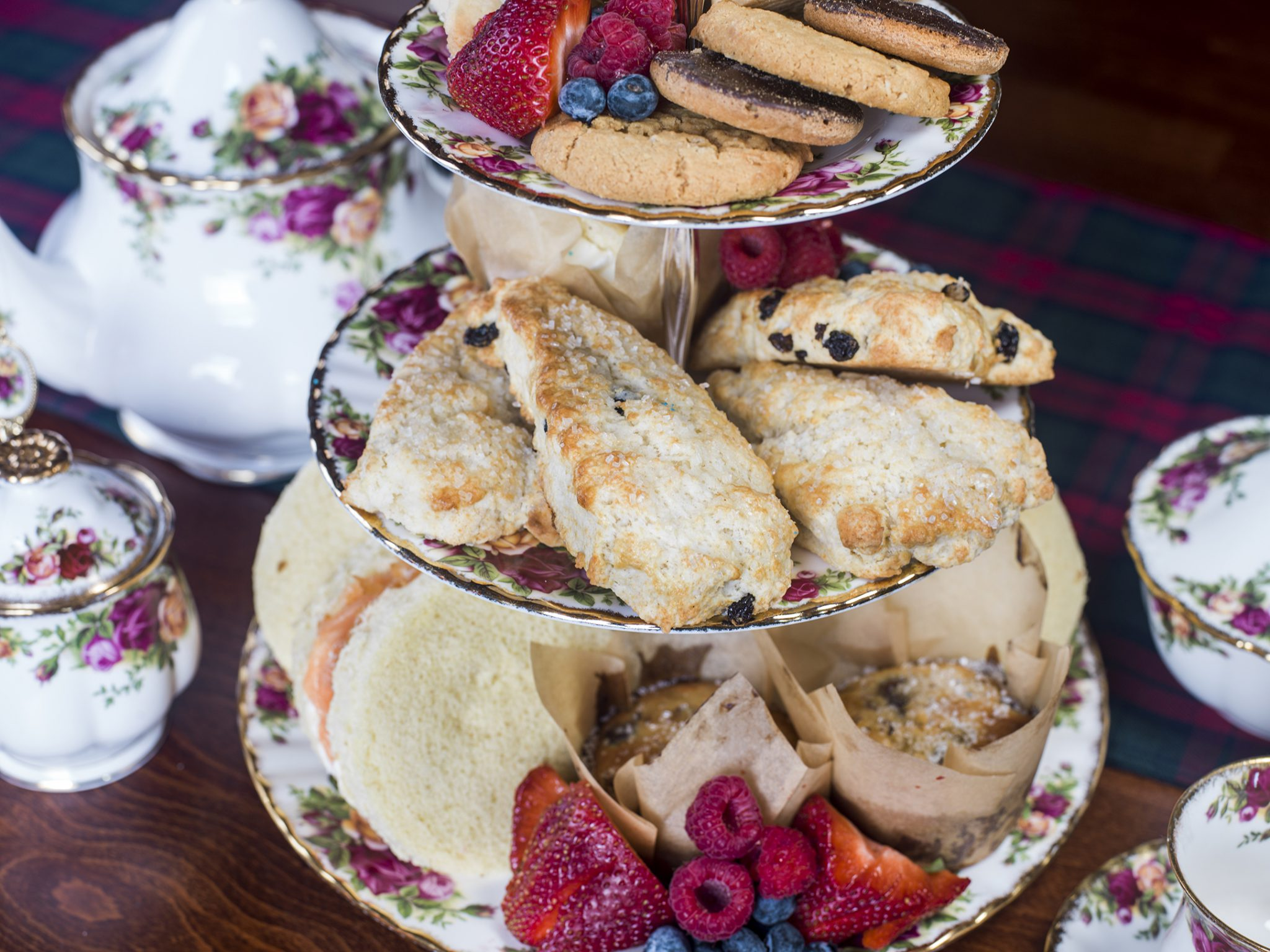 Menu – Scottish Afternoon Tea