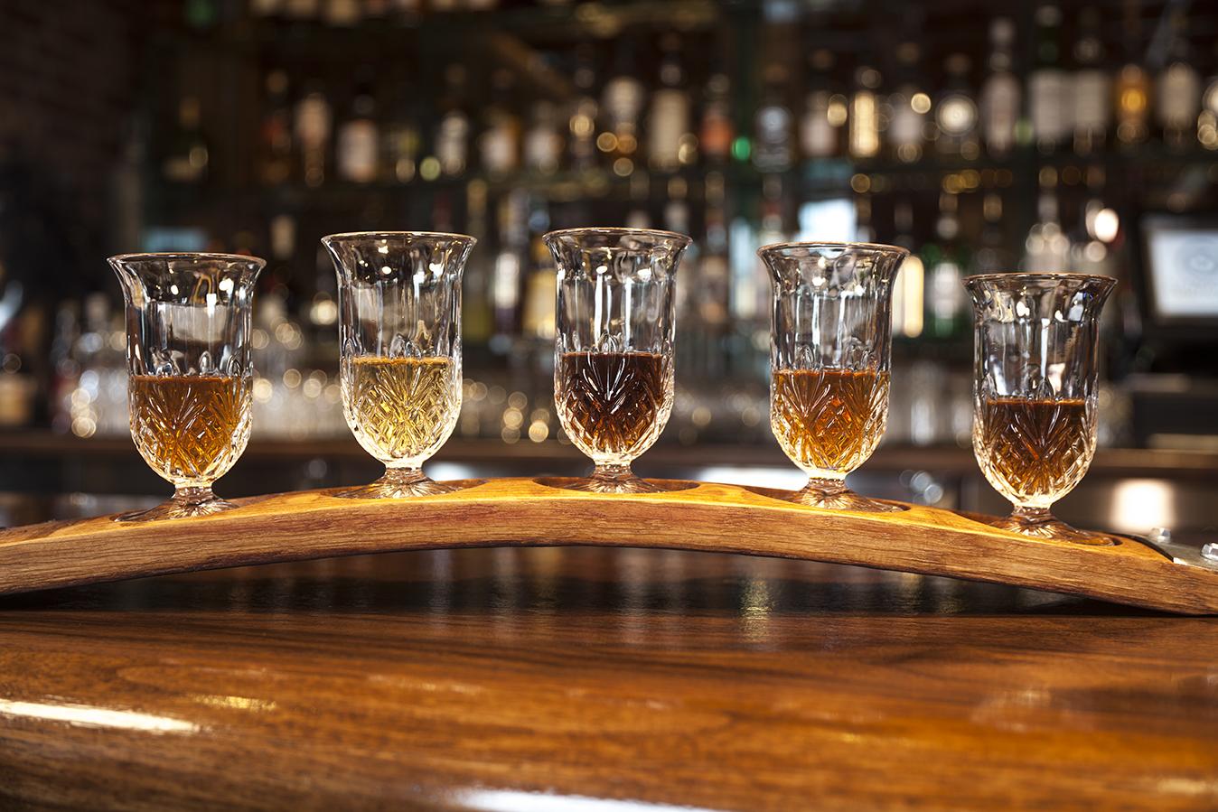 Menu – Whisky Flights