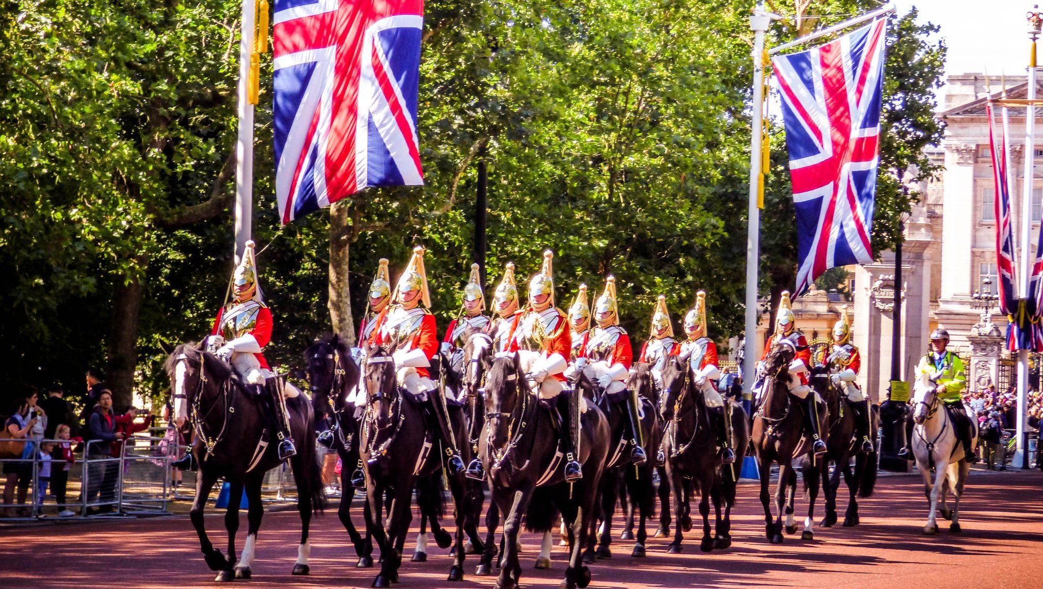 Menu – British are Coming!
